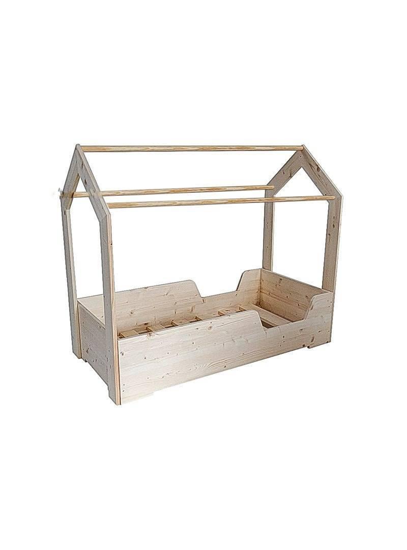 Fabriquer Lit Cabane Montessori lit cabane montessori 60 x 120 cm amova - casalou