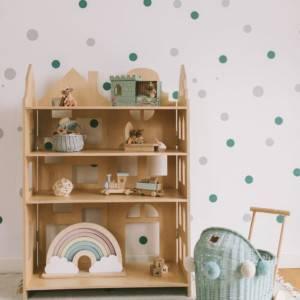 mini bibliothèque montessori