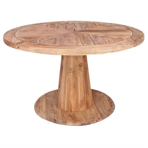 , Table Provence Misterwils en bois de Pin recyclé