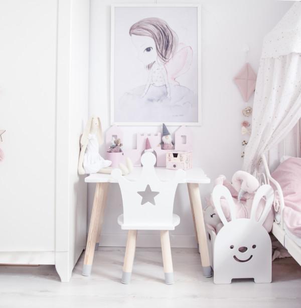 """, Table-Bureau"""" Royal"""" pour enfant de BeMini"""