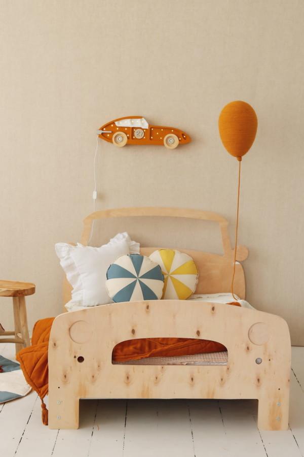 , Lit voiture pour enfant en bois massif BeMini
