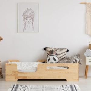 lit montessori Cube 2 dans chambre d'enfant
